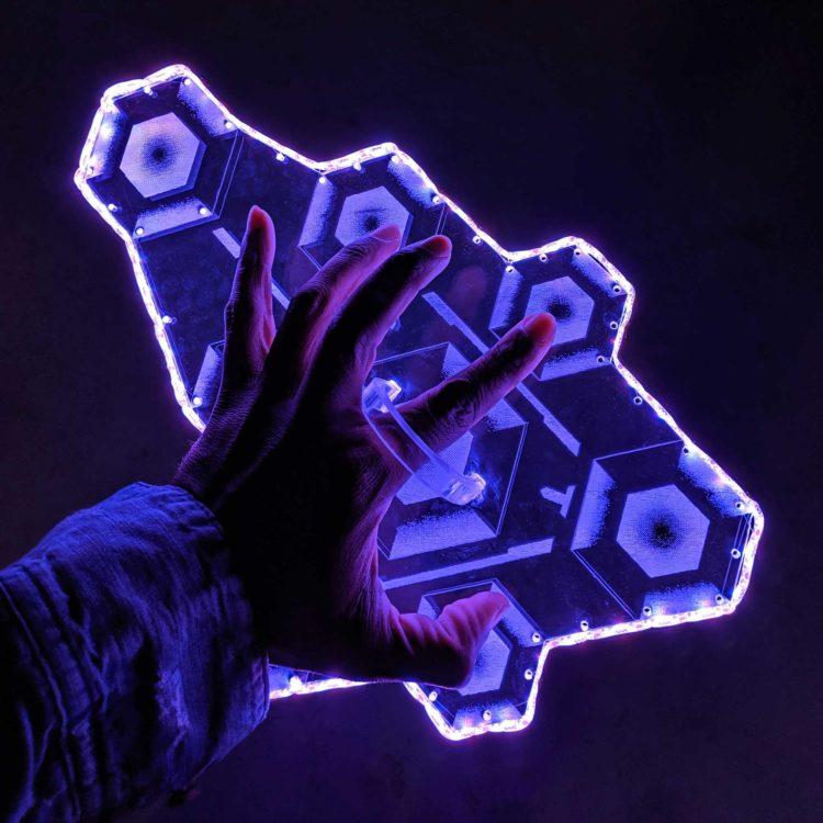 Overwatch Sombra Hack Light Up Prop