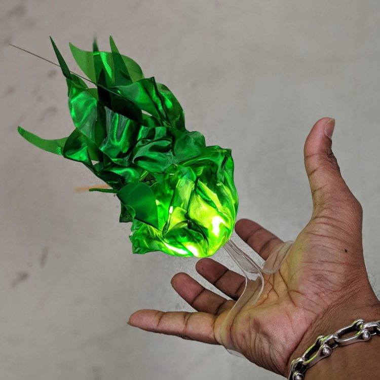 "Floating Flames ""Illusion"" Prop – Jade Green"