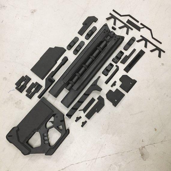 Overwatch Soldier76 Pulse Riffle DIY Kit