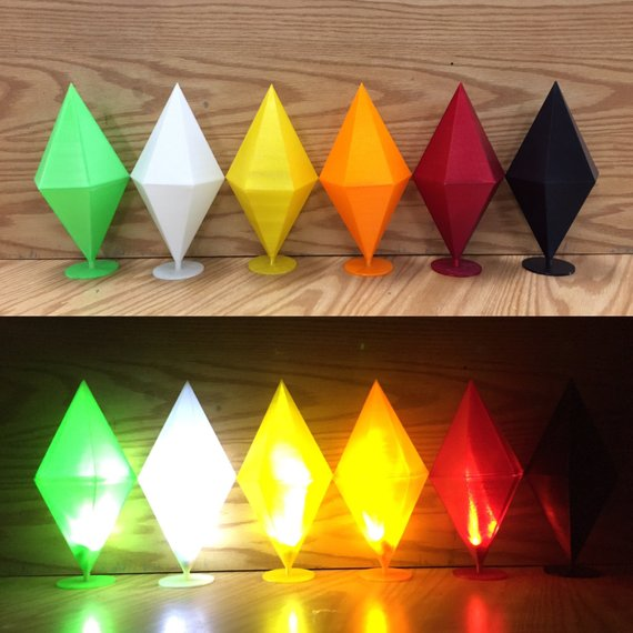 Plumbob Light Up DIY Kit ( SIMS )