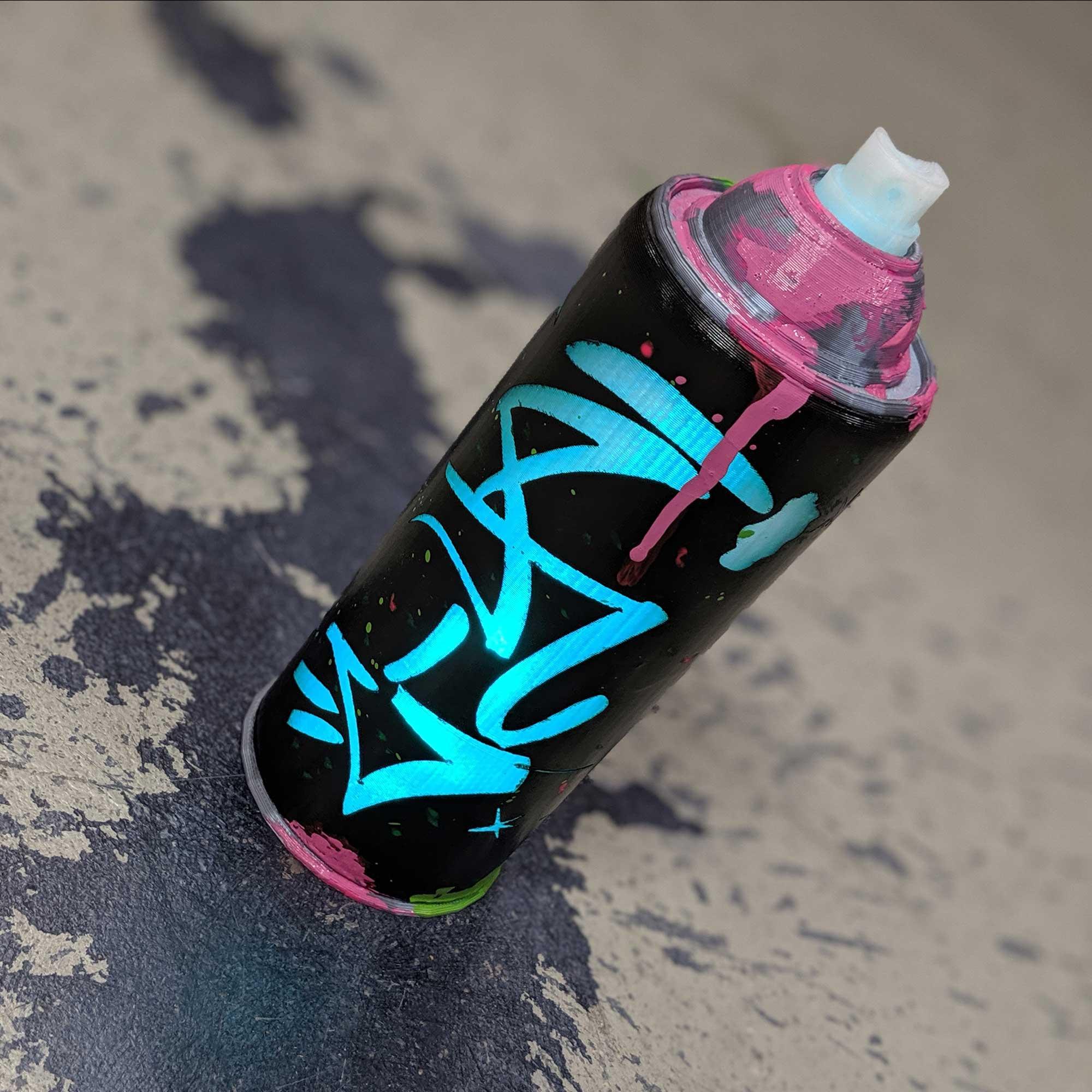 KDA Akali Light up Spray Can DIY kit