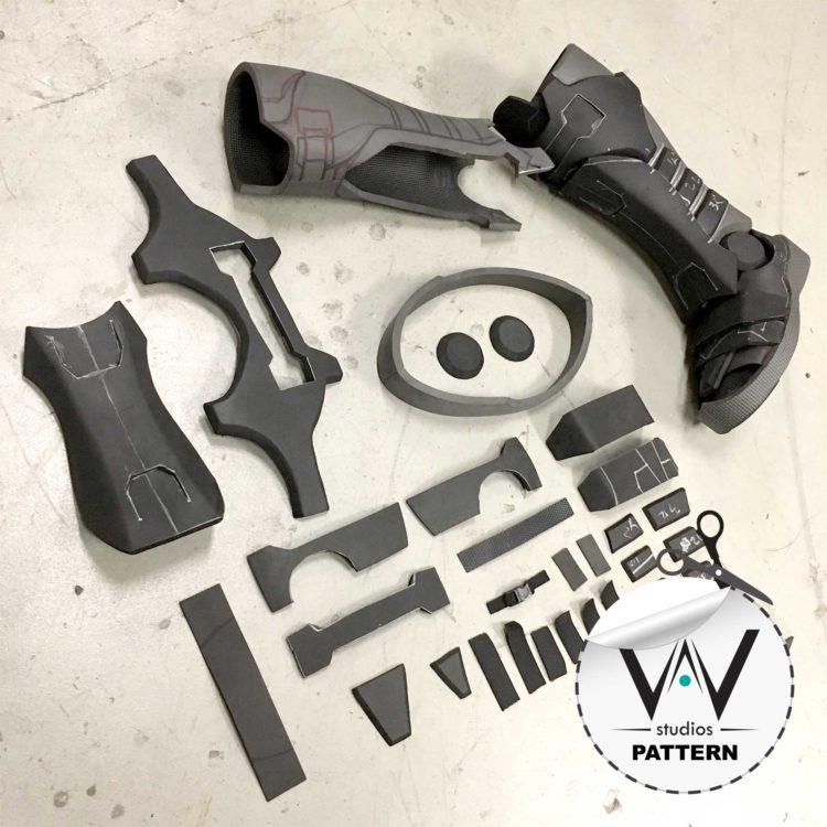 Soldier 76 ( Overwatch ) Boots Pattern