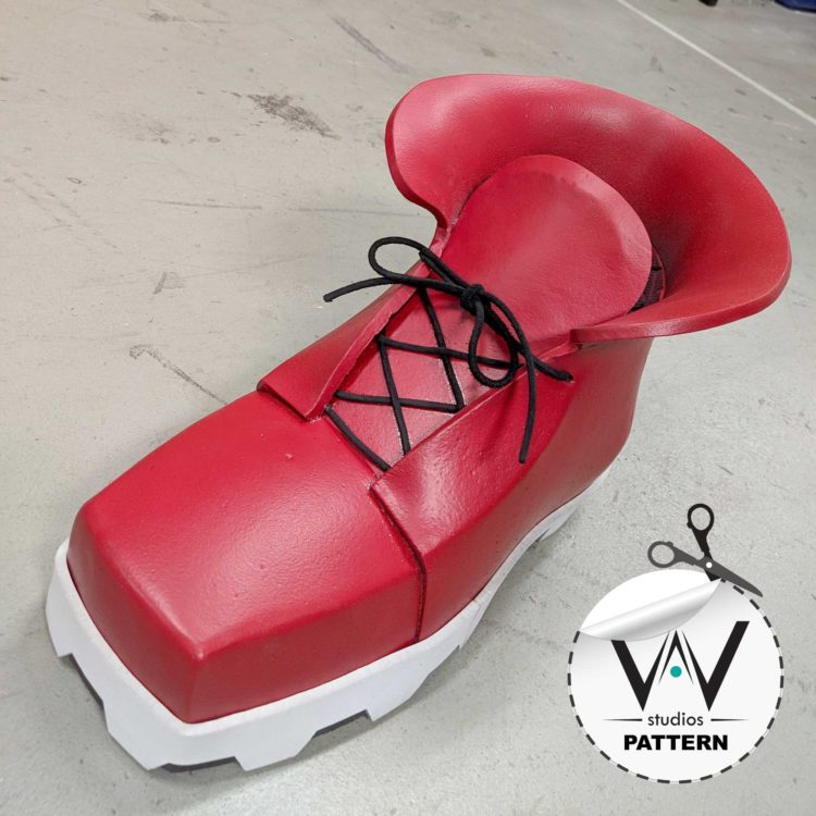 My Hero Academia DEKU Shoes ( PATTERN )