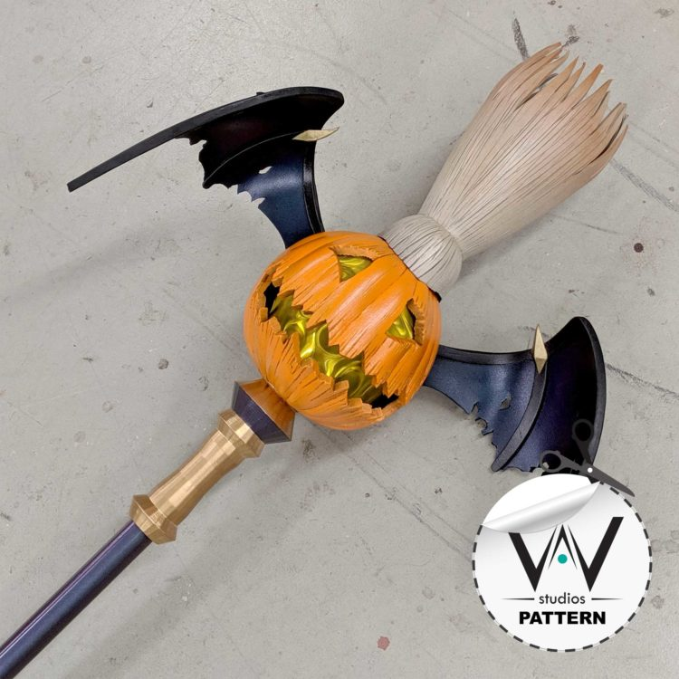 Bewitching Janna ( League Of Legends ) Pumpkin Staff Pattern