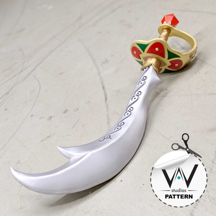 Urbosa ( BOTW ) Scimitar Of The 7 Pattern