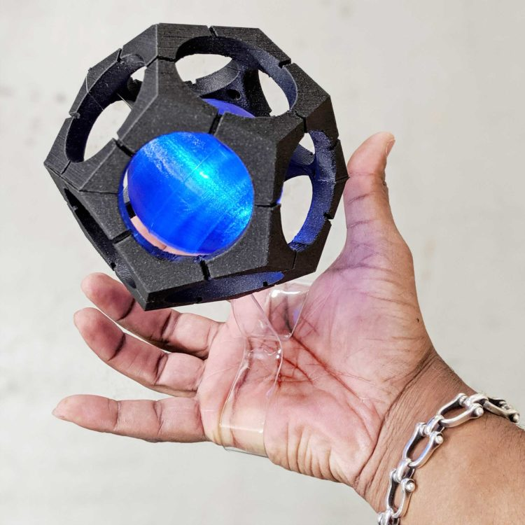 Overwatch Sigma Floating Hypersphere Prop