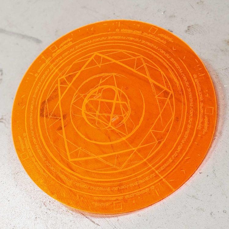 Dr Strange Lte™ Neon Spell Disc Prop