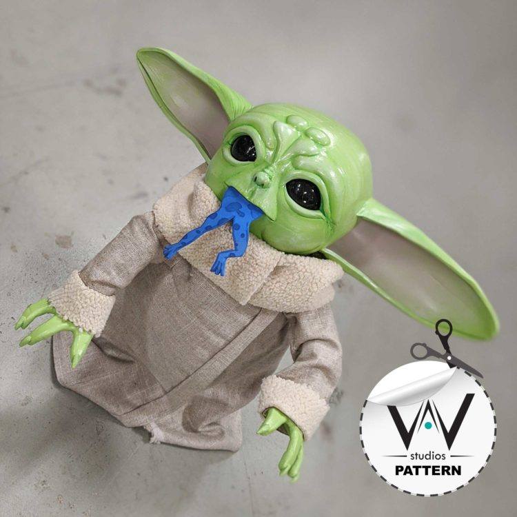 "Baby Yoda ""Body"" (Patterns) The Mandalorian"