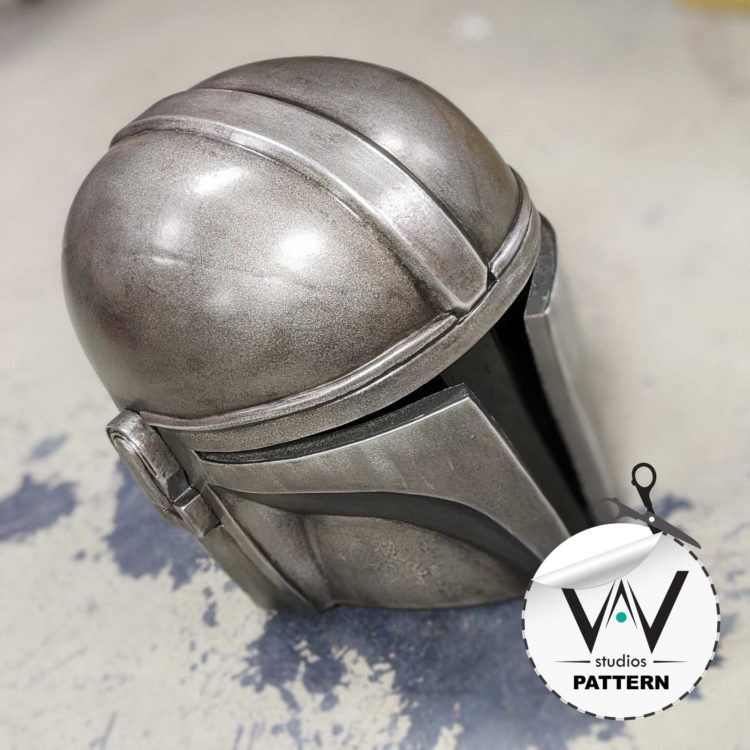 "Mandalorian ""Mando"" Helmet (Patterns)"