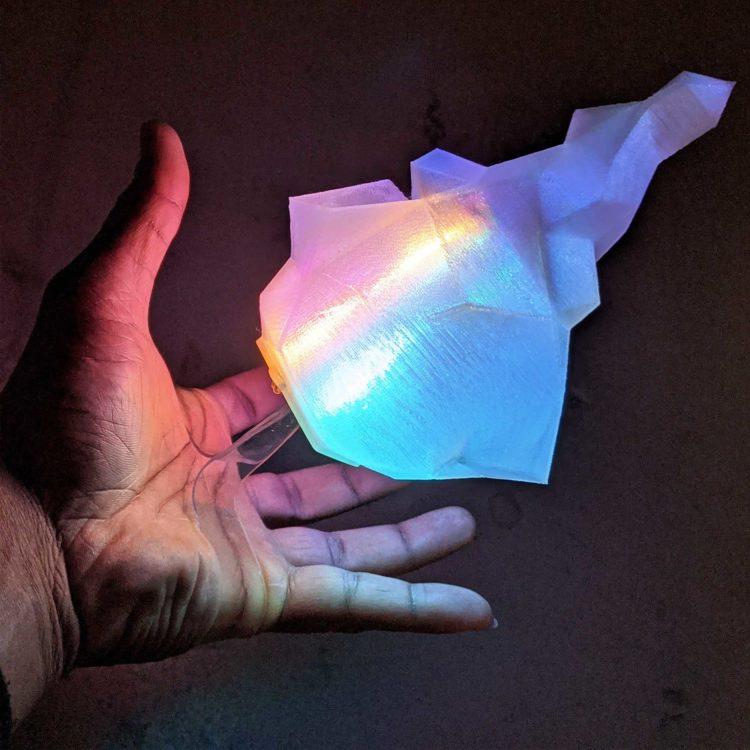 "Floating Flame ""illusion"" LED Prop ( Promare – Burnish )"