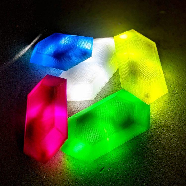 LED Rupee DIY Kit ( BOTW )