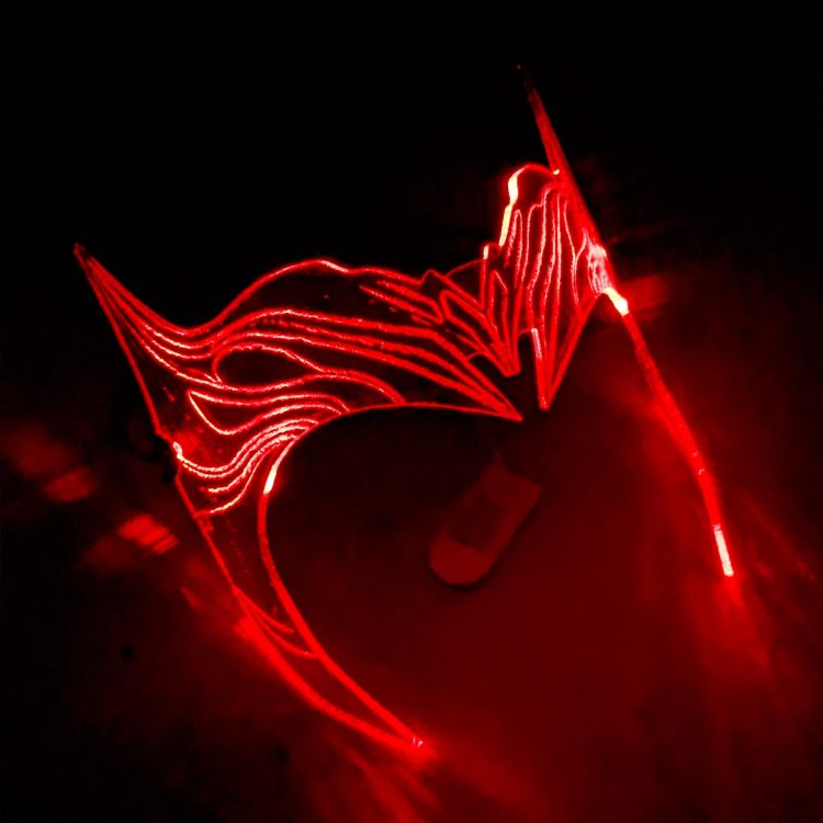 Scarlett Witch LED Crown ( WandaVision ) One Size