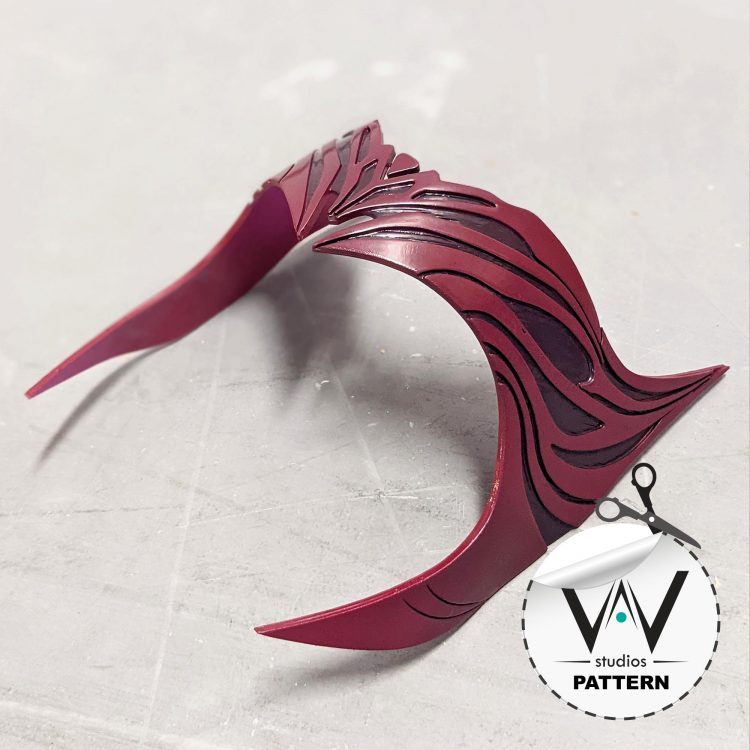 Scarlett Witch Crown ( WandaVision ) Foam PATTERNS