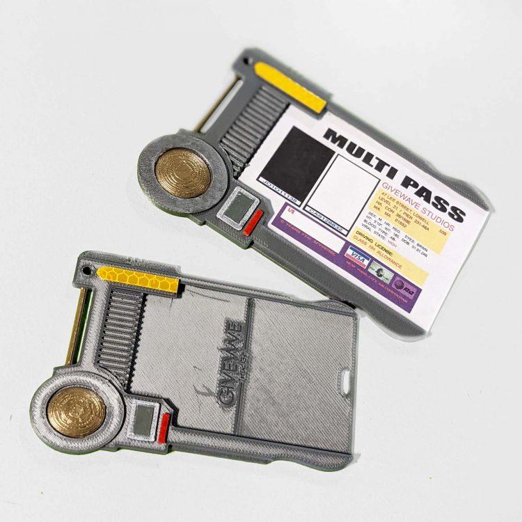 Multipass ( Fifth Element ) Badge/Card Holder